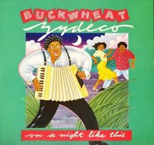 BUCKWHEAT ZYDECO on a night like this ILPS 9877 usa island 1987 LP PS EX+/EX