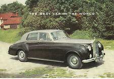 Rolls-Royce Folder Silver Cloud II, Bentley Continental And Phantom V Circa '61