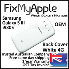Samsung Galaxy S III S3 i9305 White Back Rear Cover Battery Housing Door Case 4G