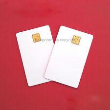 Contact IC card 4428 Chip Smart Card  PVC  White 6 PCs