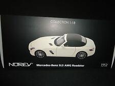 Norev Mercedes SLS AMG 2011 Roadster White 1/18
