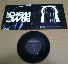 BLACK REBEL MOTORCYCLE CLUB Weapon w/ UNRELEASED Gatefold UK 7 INCH Vinyl BRMC