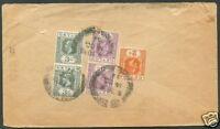 BRITISH CEYLON TO USA Cover 1932 VF