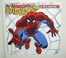 1972 Original Marvel Spider-man Buddah Records Rockomic lp rolled poster: 1970's