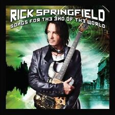 Songs for the End of the World by Rick Springfield (CD, Oct-2012, Hip-O)