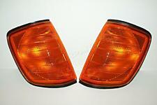 86-95 MERCEDES W124 Turn Signal Lights Euro AMBER