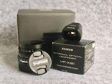 Voigtlander VM 21mm Color Skopar F4 to fit Leica M + Fuji VF-X21 External Finder