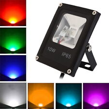 10W LED Spot Light Spotlight Outdoor Pond Garden Yard 220V RGB Lamp+Remote IP65