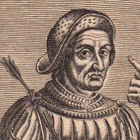 Portrait XVIIe Guillaume Tell Wilhelm Tell Héros Suisse Uri Schwyz Unterwald