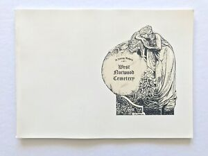 WEST NORWOOD CEMETERY London 1989 booklet 22 pages fully illustrated Monuments