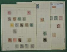 CARIBBEAN STAMPS SELECTION ON 5 ALBUM PAGES  (J66)