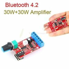 DC 12V 30W*2 Bluetooth 4.2 Receiver Stereo Audio Amplifier Board AUX USB (L49)