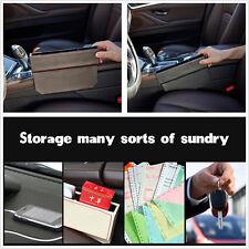 Black Catch Catcher Box Caddy Car Seat Gap Slit Pocket Storage Organizer Box