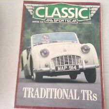 Classic And Sportscar Magazine Traditional TRs August 1986 061417nonrh