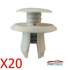 X20 VW T4 T5 TRANSPORTER CARAVELLE INTERIOR DOOR CARD MOULDING SCREW CLIPS.