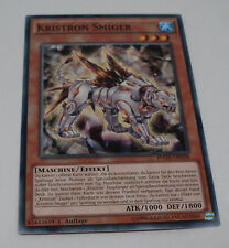 Yu-Gi-Oh Karte - Kristron Smiger - Maschine / Effekt - ATK 1000 - Yugioh Neu