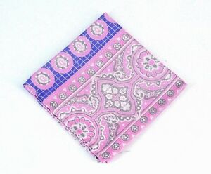 Lord R Colton Masterworks Pocket Square - Rocas Atoll Shell Pink Silk - $75 New