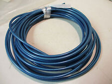 NOS clear blue cable housing by the foot old school bmx vtg road mountain bike