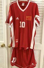 CHINA jersey zhang yuning soccer size xl 中国男足 1998 亚运会 10号 张玉宁
