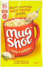 Mug Shot Pasta Snack Roast Chicken Flavour 5 x 55g - Will Ship Worldwide From UK