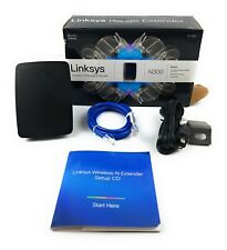 Cisco Linksys Wireless-N Range Extender N300 Booster RE1000 V1.5 Home Adapter