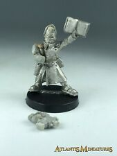 Metal Imperial Guard Steel Legion Officer - Warhammer 40K X611