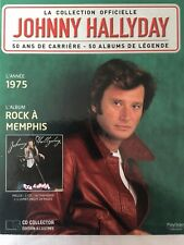 Johnny Hallyday La collection officielle Livre CD Rock à Memphis