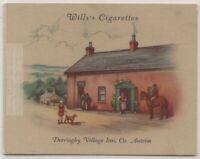 Derriaghy Village Inn Antrim England 1930s  Ad Trade Card