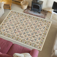 Teppich Orientteppich Klassisch Orientalisch Wohnzimmer Tamir Creme Mehrfarbig