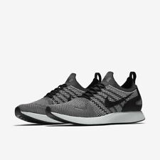 premium selection 13077 af662 Nike Air Zoom Mariah Flyknit Racer 918264 015 Black Pure Platinum NIB  150