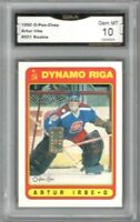 1990-91 O-Pee-Chee #501 Arturs Irbe UER RC | Graded GEM MINT 10  | Only RC
