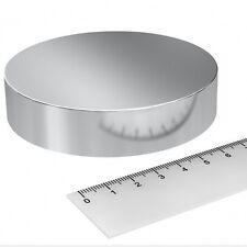 Super Magnete Disco in Neodimio 90x20 mm Potenza 450 Kg Acqua Magnetizzata