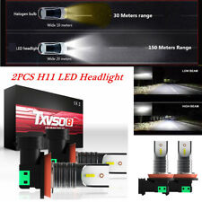 H11 Car LED Headlight Conversion Kit Bulbs 110W 30000LM 6000K White Waterproof