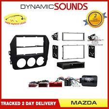 Car Stereo Single / Double Din Fascia & Stalk Adaptor Kit for Mazda MX-5 2009-12