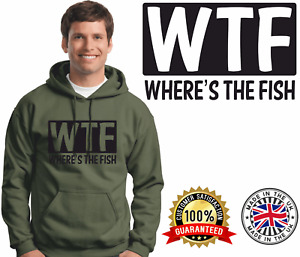 Carp Fishing Hoodie Christmas Present Fathers Day Present Brother Dads Gift WTF