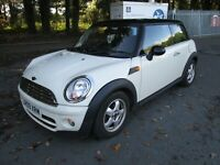 2009 MINI COOPER D HATCHBACK A/C ALLOYS SERVICE HISTORY 6 SPEED £20 TAX