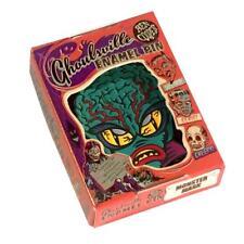 Alien Master Enamel Pin Ghoulsville Ben Cooper Halloween Horror Retro