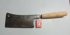 Vintage MEAT CLEAVER stamped HENRY BOKER Butcher Sheep Carving