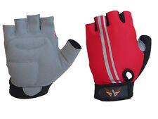 Gel Bike Half Finger Cycling Gloves Short Bicycle Biking Riding Gloves