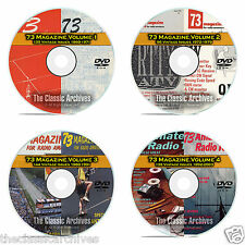 73 Magazine, Complete 4 DVD Set, 1960-2003, over 500 Ham Radio Magazines DVD B00