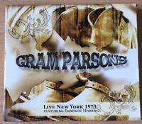 Gram Parsons - Live New York 1973 Ft Emmylou Harris - RARE 2CD Near Mint 27trks