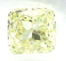 1.56 Carat NATURAL FANCY LIGHT YELLOW VS1 GIA certified Cushion Cut Diamond