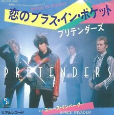 THE PRETENDERS Brass in Pocket 45 RECORD RARE JAPAN JAPANESE IMPORT PS NEAR MINT