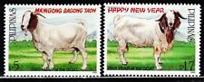 Mint Philippines 2003 Year of the Goat stamps Set (MNH)