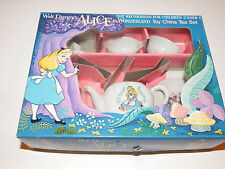 Vintage Walt Disney's Alice In Wonderland Toy China Tea Set