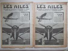 AILES 1937 821  WESTLAND SAUT PARACHUTE REARWIN SPEEDSTER AUTOGIRE HAFNER JU-86