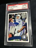 2011 Topps #300 Peyton Manning PSA 10 Gem Mint Colts
