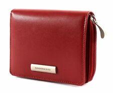 MANDARINA DUCK Hera 3.0 Zip Wallet M Geldbörse Red Rosa Neu