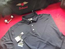 Pga Tour Motionflux 360 Ls Golf Polo - M - Black - Nwt - Top Quality - $60