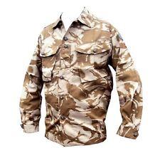 SHIRT VINTAGE DESERT CAMO - USED - grade 1 desert army shirt - Camouflage